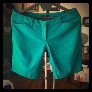 Mossimo Stretch Extensible Bermuda Shorts Sz 14